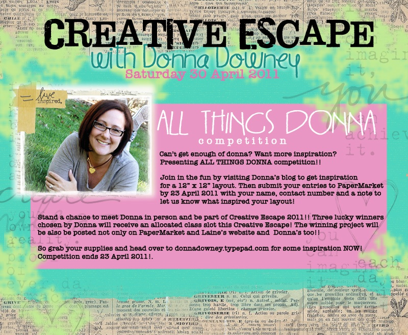 Creative Escape_All things Donna